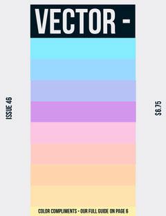 Pastel Colored Graphic Design Magazine Cover Designer