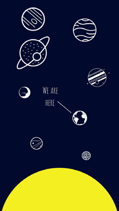 We are here Space