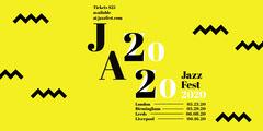Yellow Zig Zag Jazz Music Festival Eventbrite Banner Jazz
