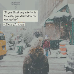 Winter Quote  igsquare Spring