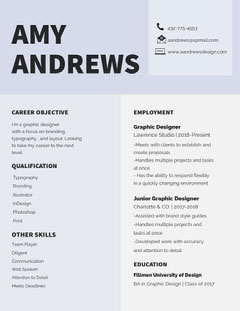 AMY<BR>ANDREWS  Designer