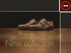 Brown Leather Shoes Facebook Shop Banner Shoes