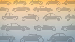 Gradient Illustrated Car Pattern Zoom Background Car