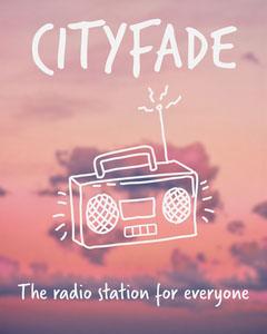 Pink Radio Station Promo Instagram Portrait  Sunset