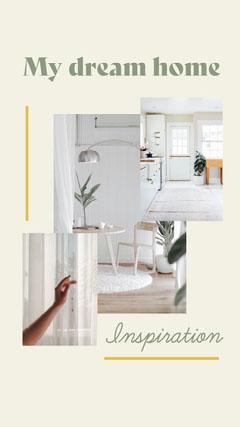 Green Minimal Home Inspiration Instagram Story Decor