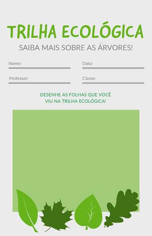 nature walk worksheet  Gabarito