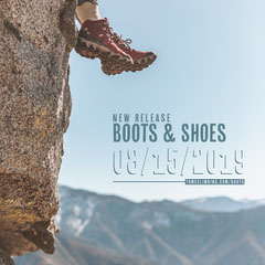 Boot and Shoe Store Instagram Square Ad with Cliff Shoes