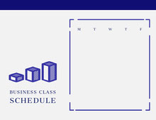 BUSINESS CLASS SCHEDULE 行程表