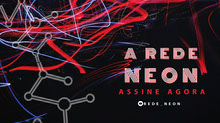 the neon network twitch banner  Banner do Twitch