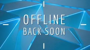 OFFLINE<BR>Back Soon Banner