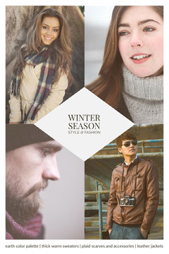 WINTER <BR>SEASON<BR>style & fashion Fashion