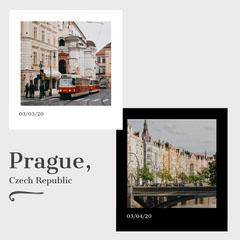 Prague Instagram square City