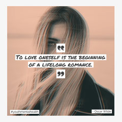 Mental Health Quote IG Square Health Poster