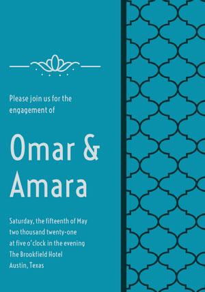Omar &<BR>Amara Verlovingskaartjes