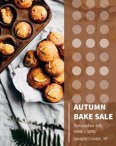 AUTUMN <BR>BAKE SALE Fall