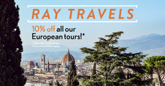 Blue Florence European Tours Special Offer Facebook Post Italy