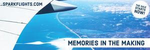 Airplane Ticket Horizontal Ad Banner Ads Banner