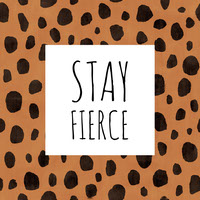 STAY  FIERCE Top Social Media Sites