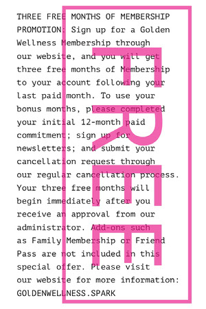 Pink and White Wellness Salon or Spa Promo Flyer Pink Flyers