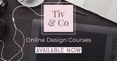 Black Pink Online Design Courses Facebook Post  Educational Course