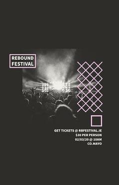 Rebound festival Poster Festival
