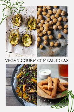 Food Collage Vegan Meal Ideas Pinterest Graphic Vegan