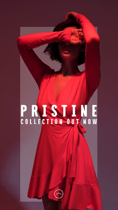 Pristine Collection Instagram Story Dress