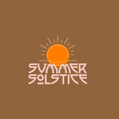 Summer<BR>Solstice Sun