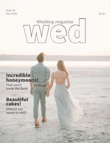 wed Magazine Cover