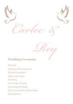 Carlee & Rey Weddings