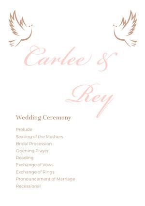 Carlee & Rey Program