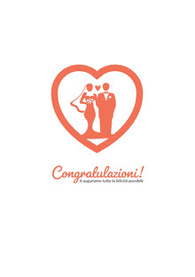 bride and groom congratulations cards Biglietti di ringraziamento per il matrimonio
