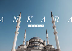 Ankara Postcard Sky