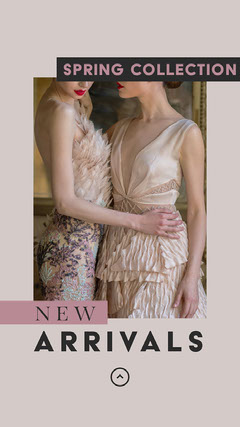 Spring New Arrivals Instagram Story New Collection