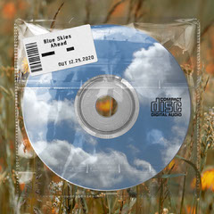 Blue Sky With Plastic Texture and Price Sticker Copy CD Cover
