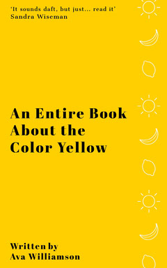 Yellow Illustrated Kindle Book Cover  Sun