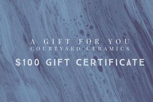 Blue and White Gift Card Buono regalo