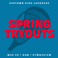 lacrosse tryouts instagram square  Sports