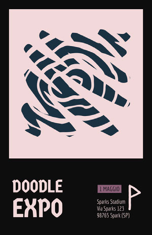 Doodle Expo Poster eventi