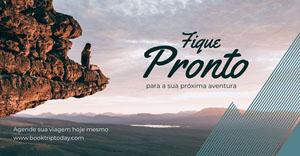 adventure facebook ad Flyer de anúncio