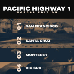 Pacific Highway Travel and Tourism Instagram Square Graphic California