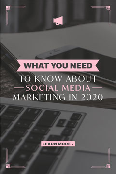 Black and Pink What Do You Need To Know Pinterest Post Social Media Flyer