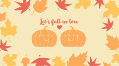 Let's fall in love Background