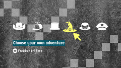 Grey and White Adventure Banner Grey