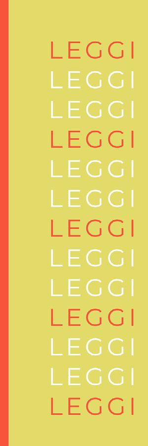 orange and lime green bookmarks  Segnalibro