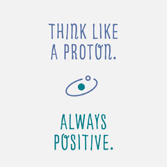 Positive Thinking Inspirational Quote Instagram Square Science