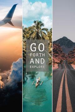Explore Collage Pinterest Post Adventure