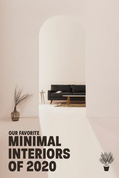 White Minimal Interiors Pinterest Graphic Interior Design