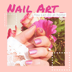 Pink Nail Art Instagram Square Instagram Post