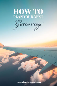 Blue Sky Plane How To Plan a Getaway Pinterest Planes
